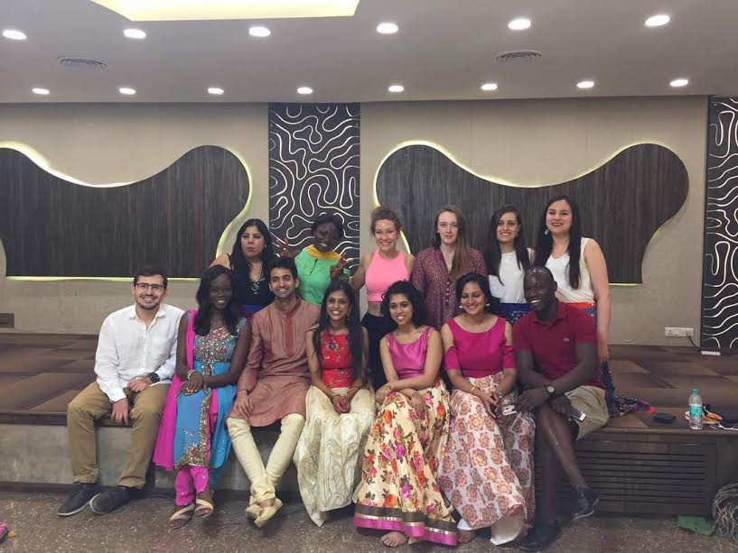 The Harvard Law School (HLS) Contingent after the Mehendi Night