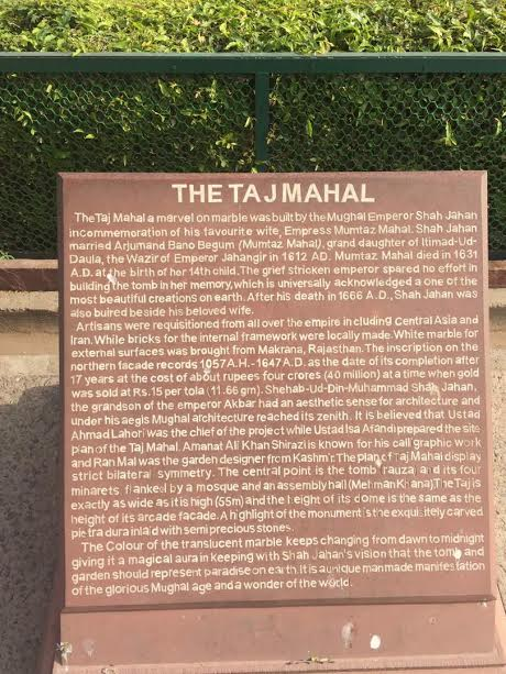 What love can do... A bit of the Taj history