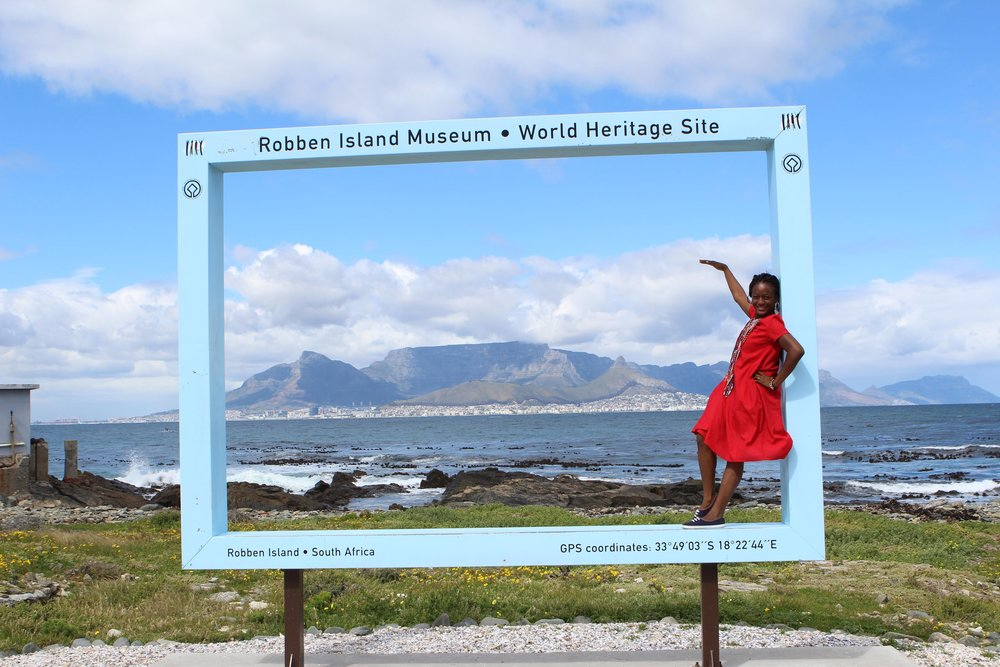 We don't need to tell you. That's Robben Island Museum. Cape town, South Africa.
