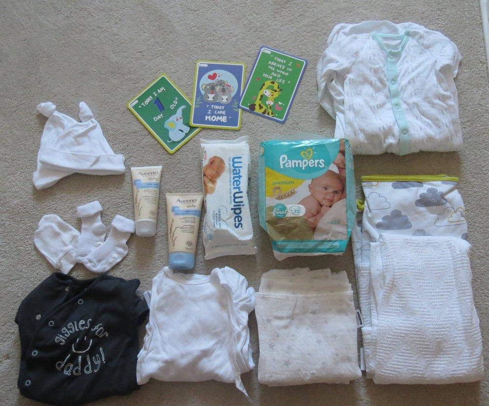 packing the baby hospital bag uk.JPG