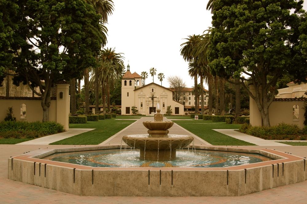 Mission Santa Clara, Santa Clara University