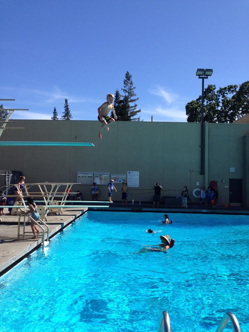 High Dive Jump