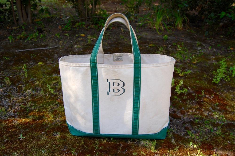 L.L. Bean Boat and Tote Bag, Size Large, Length Regular