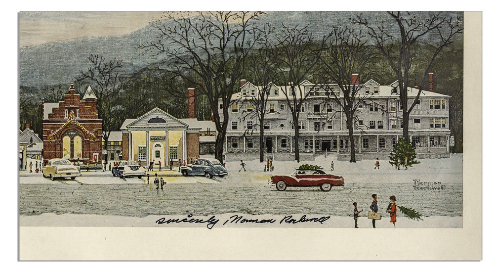 Norman Rockwell Christmas Town