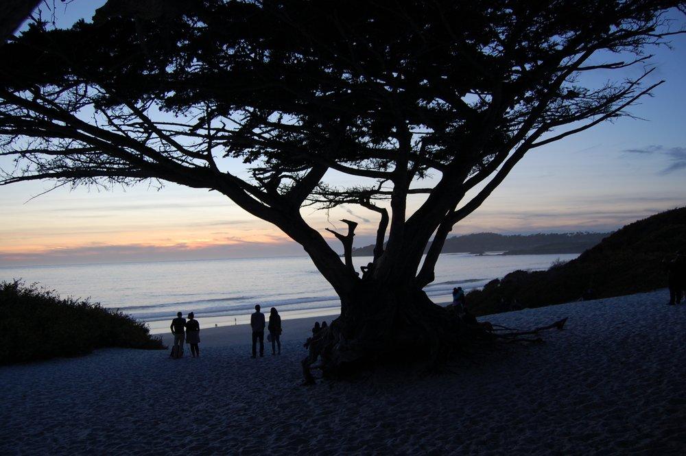 Sunset at Carmel Beach