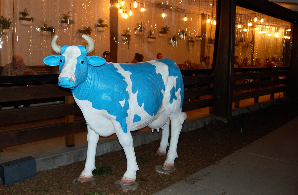 The Mendocino Farms Cow
