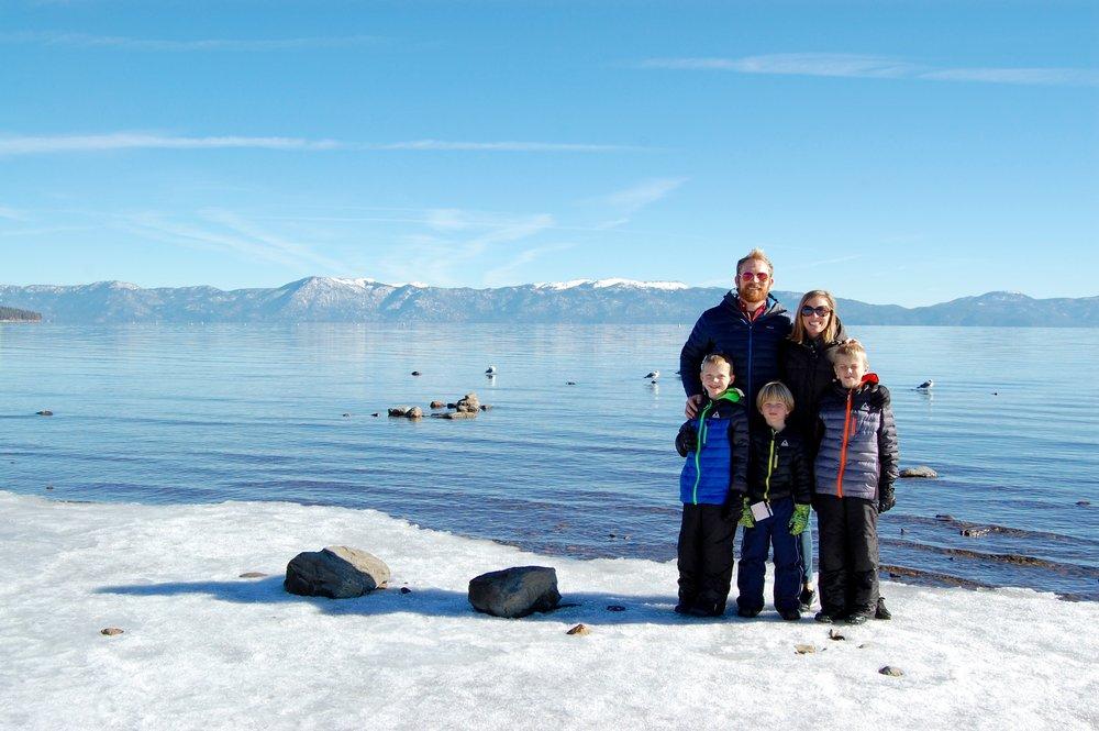 Lake Tahoe, December 2016