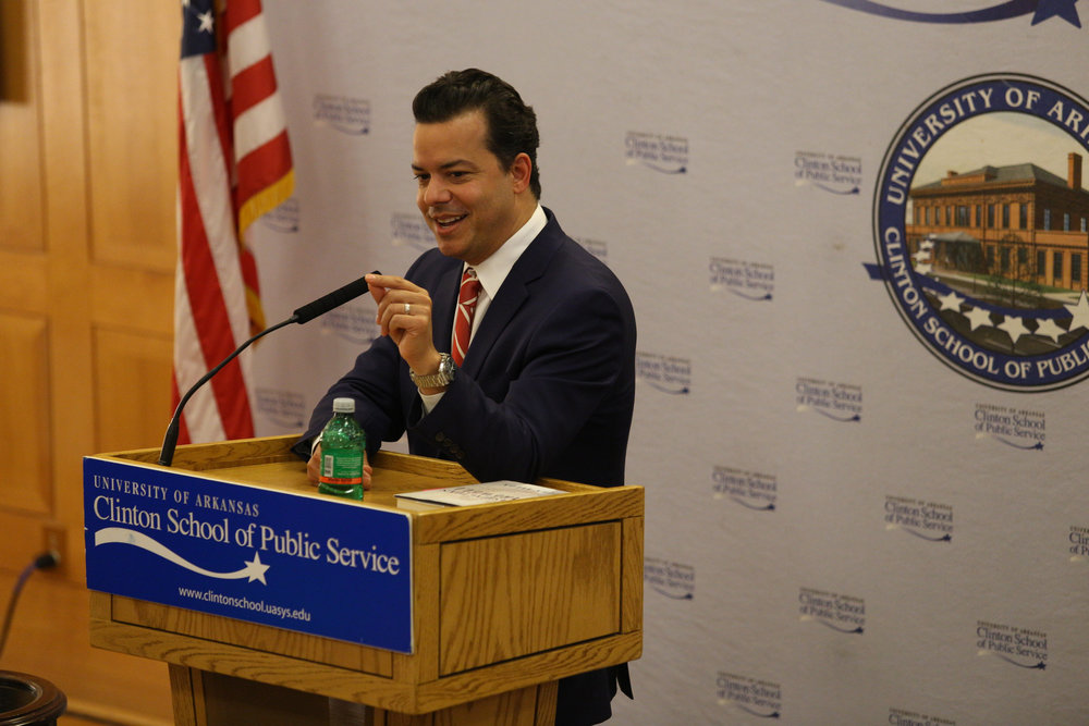 John Avlon Clinton School.JPG