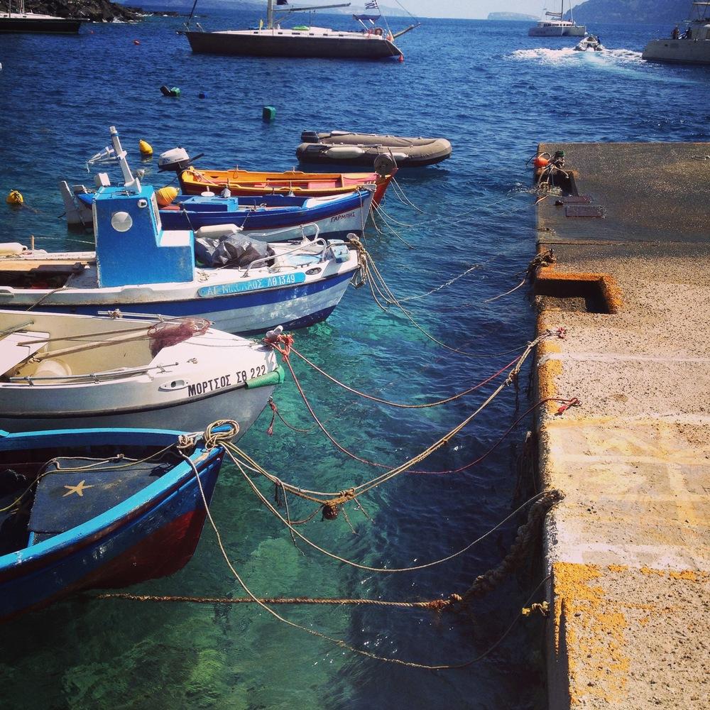 Amoudi Bay, Oia