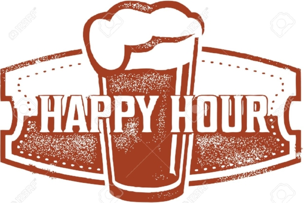 HAPPY HOUR Mon-Fri   We have the best happy hour in the city period. Join us Monday though Friday 4:30 pm- 6:30pm for half price beers. We have a tap list of 25 beers, during happy hour most of those are offered at half price, usually about 18-20 beers at any given time. Along with liquid love we have a happy hour food menu which includes a couple of happy hour only items and a few favorites all at a discount price.