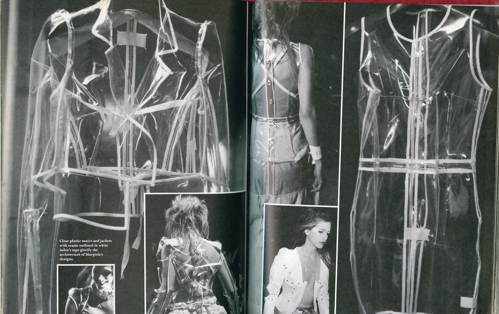 "BILL CUNNINGHAM, PHOTOGRAPHS oF MARTIN MARGIELA, SPRINg/SUMMER 1990, ""The COLLECTIONS"" DETAILS, MARCH 1990"
