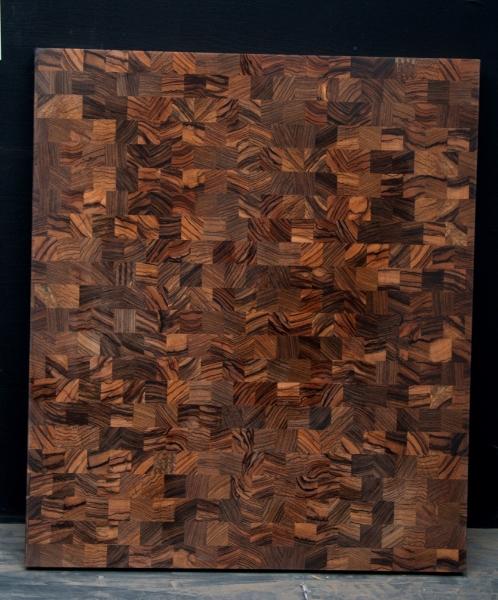 Zebra Wood End Grain Countertop - 5235