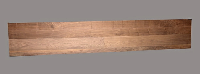 Walnut Premium Wide Plank Top - 5261