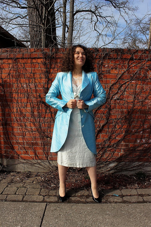 Opera Jacket and Shift Dress
