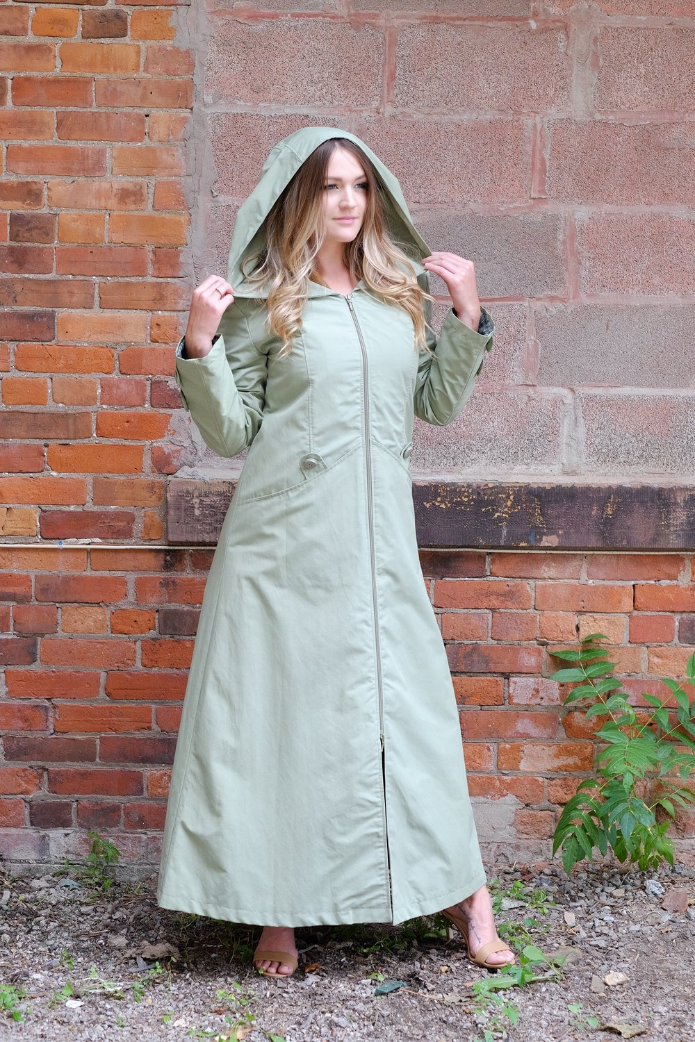 Pistachio Trench Coat