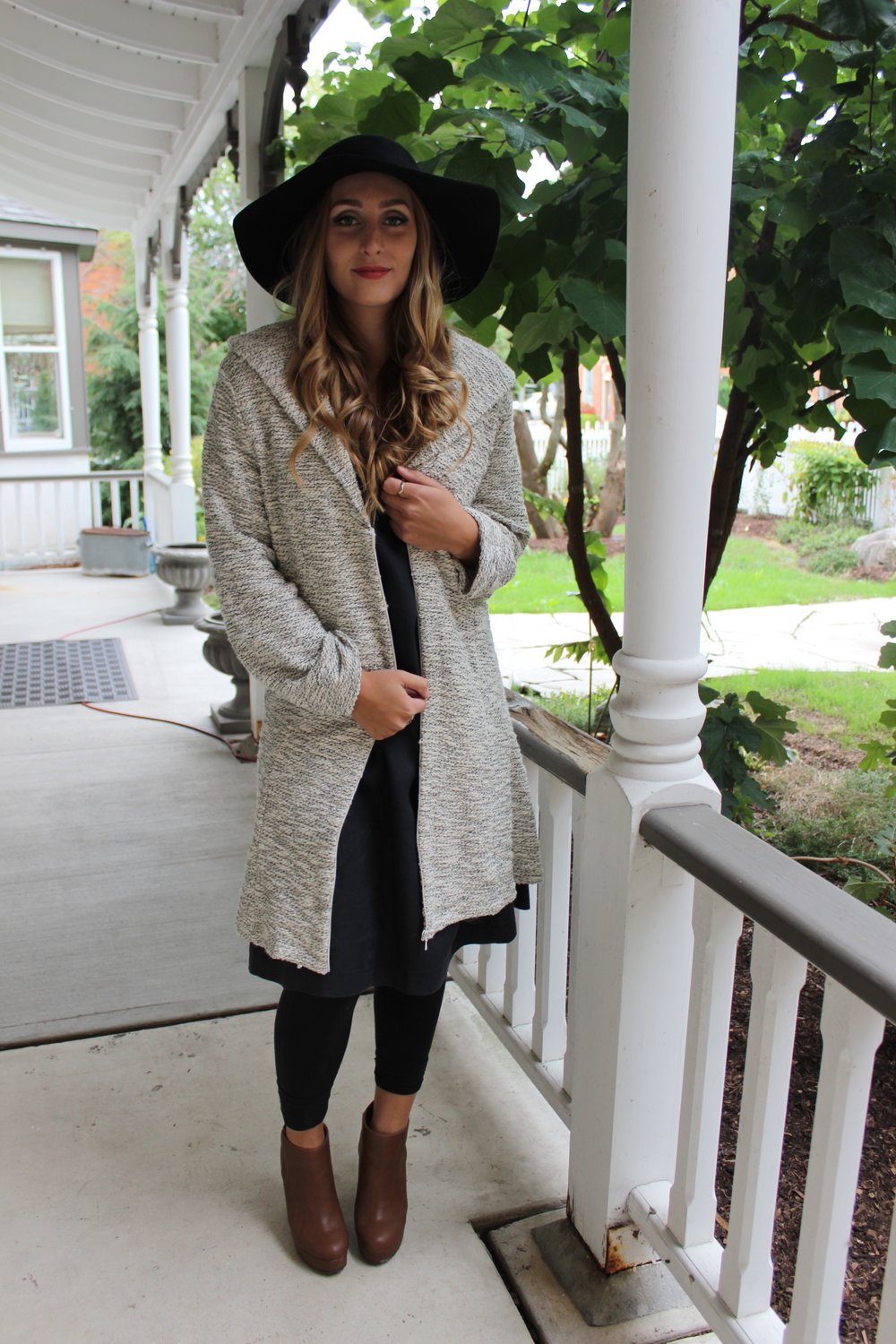 Zipper Hoodie and Tunic