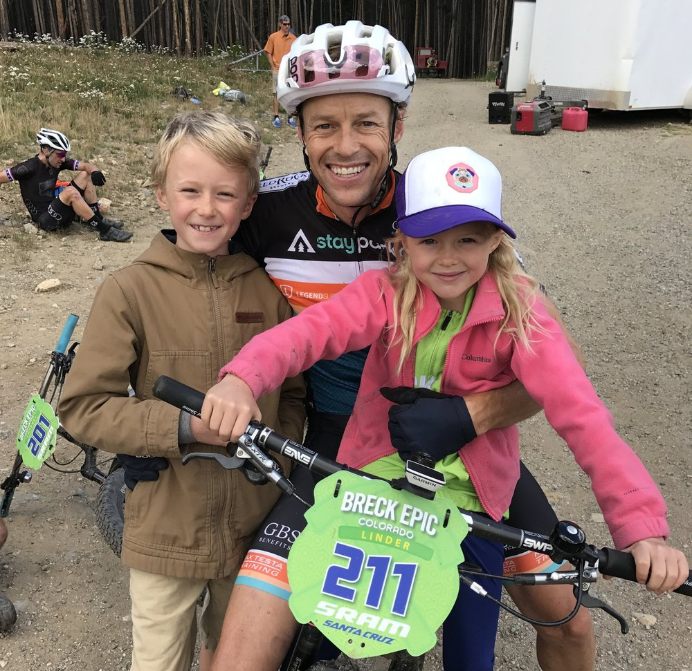 Jason Linder- Club President & co-founder, 10x Leadville 100 competitor, road and mountain bike racer, passionate cyclist, family-man and long time Park City local.