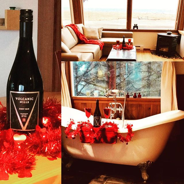 Highwater House is excited to announce its partnership with Haida Wild. We are participating in their new Wine Wednesday social campaign and have created an intimate Valentine's Day kick off package! ❤️Book this getaway and surprise your partner with a night out that includes wine from Volcanic Hills Winery and Salmon from Haida Wild. Spend the night creating a romantic dinner for two and sipping on a beautiful Gamay Noir by the fire, while gazing at the stars.  Please DM for price inquires, as I am sure this package will go quickly.  #highwaterhouse #winewednesday #supportlocal #haidawild #volcanichillswinery #valentinesday #haidagwaii #haidagwaiitourism