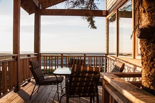 September sun will soon be here. Calm cool evenings on the deck are beautiful and peaceful like no others. The last of the summer warmth with a hint of the coming fall. Special.