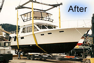 Fully restored by Bellingham Marine Repair.