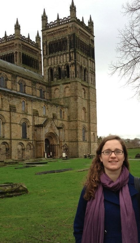 Sira at the Durham Cathedral