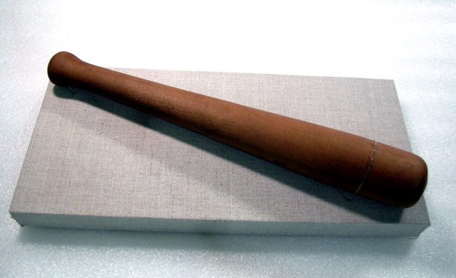 2003.0045.002 Anthony Burns Nightstick. Gift of New England Financial Archives.