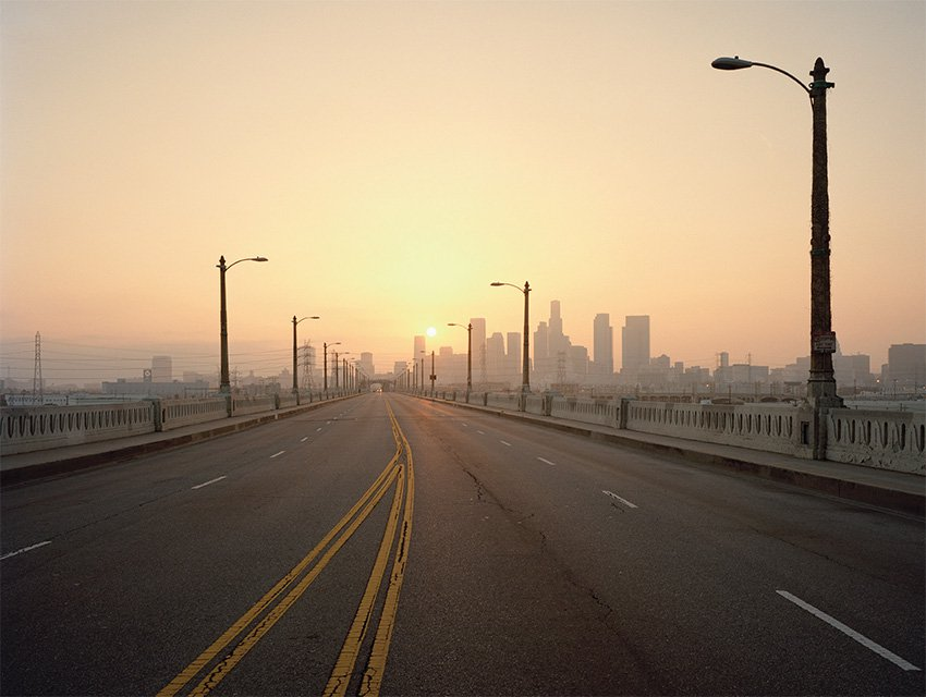 This bridge between East Los Angeles and Downtown L.A. is the only thing that separates our local church from 1000's of homeless men, women and children that are desperate for JESUS.