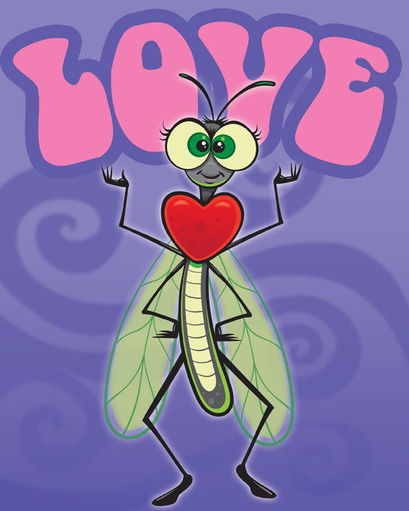 Meet Love Bug!  She demonstrates LOVE and its conquering power to her friends. She always extends mercy and grace to those who have done wrong, and through this, teaches her friends to accept the shortcomings of others.