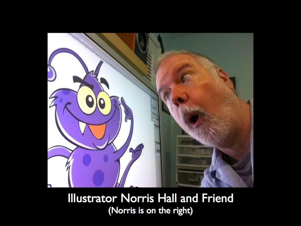 Illustrator Norris Hall