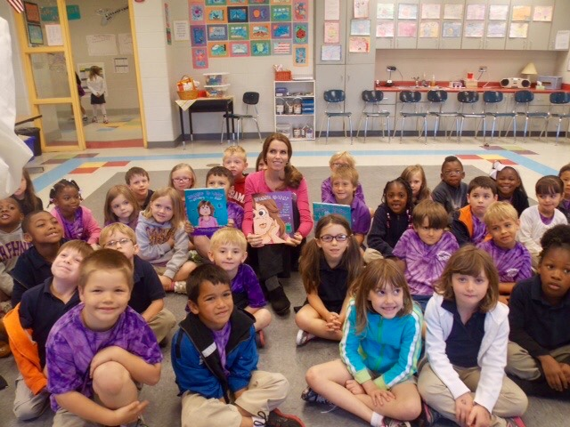 Presenting Maggie McNair to elementary schools