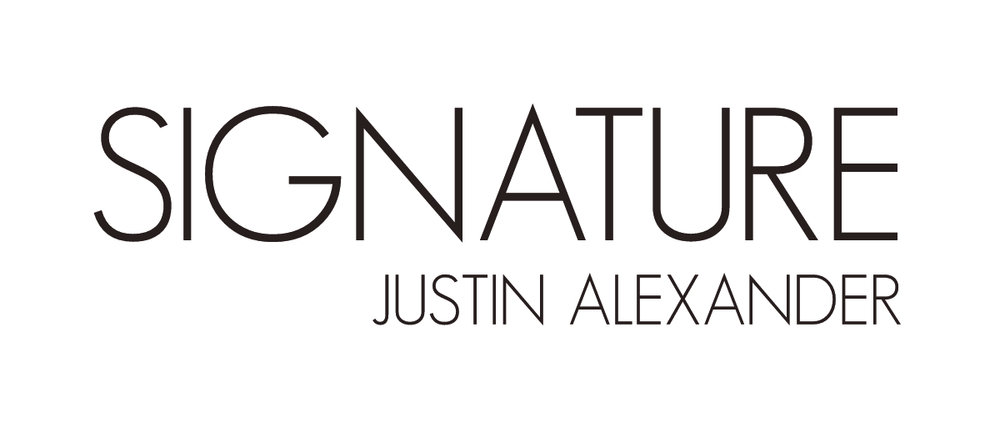 Signature- Justin Alexander