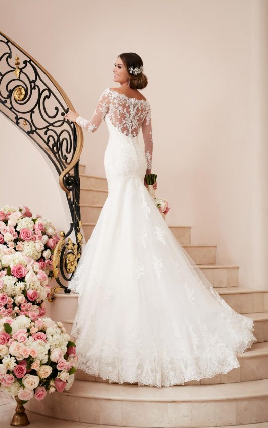 a5a2af63980 Stella York Style 6353. Stella York Style 6353. This long sleeve wedding  dress ...