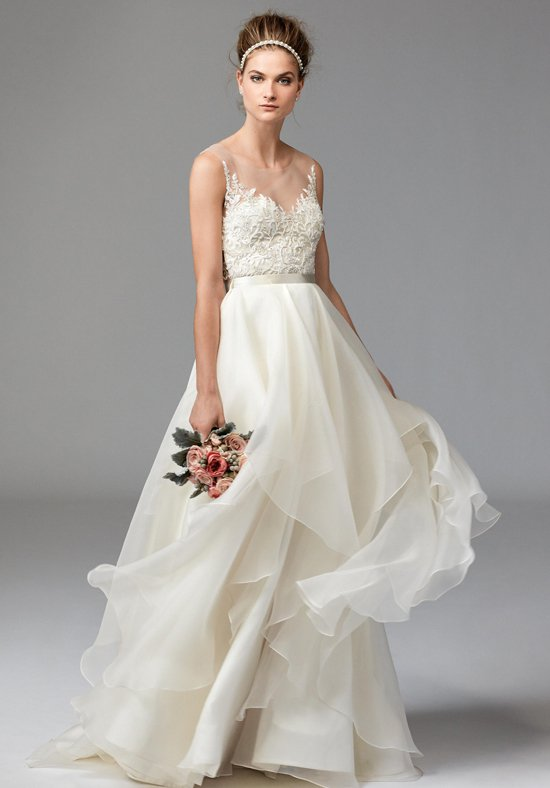 Watters styles 1041 (Dianthus - top) and 1003 (Jarred - skirt)