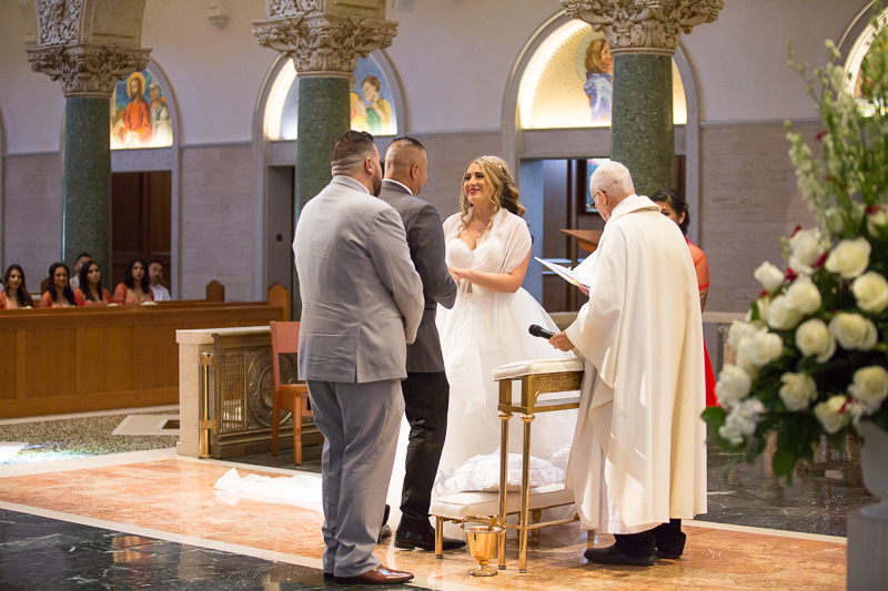 Exchanging Marriage Vows