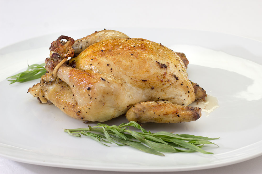 Baked Rock Cornish Hen
