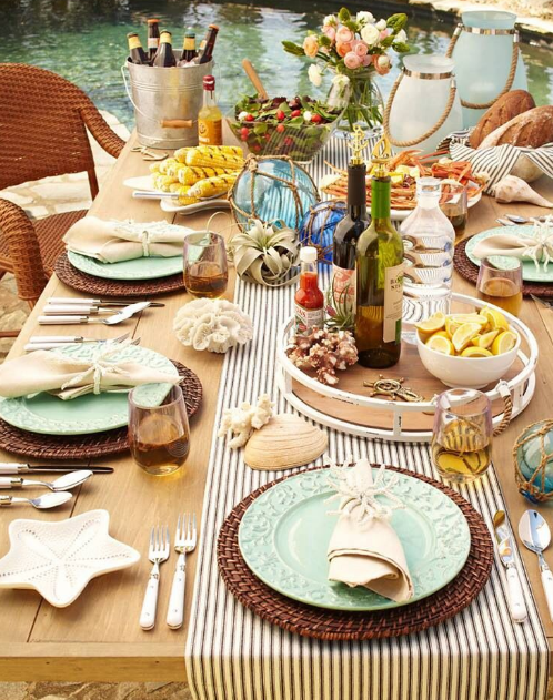 & 17 Picnic Table Settings To Inspire You u2014 Anns-liee