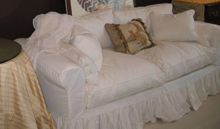 My Shabby Chic Custom Made Slipcover