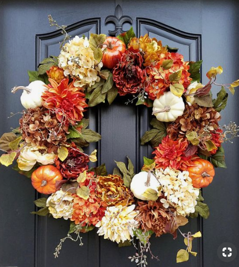 Fall Wreath   source