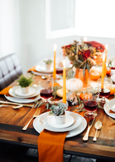 Fall Tablesetting   source