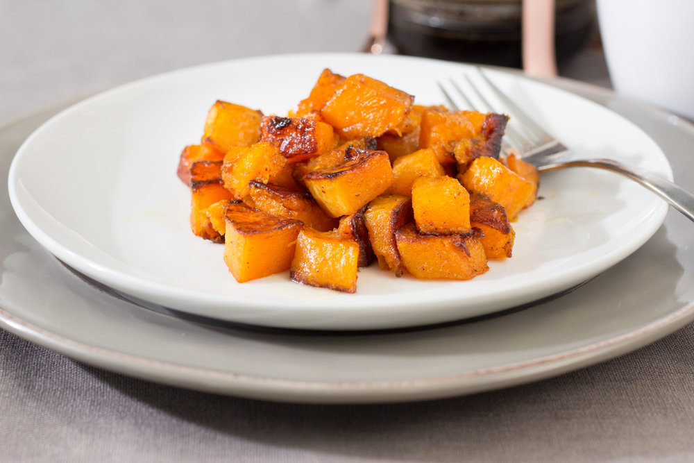 - Spiced Butternut Squash