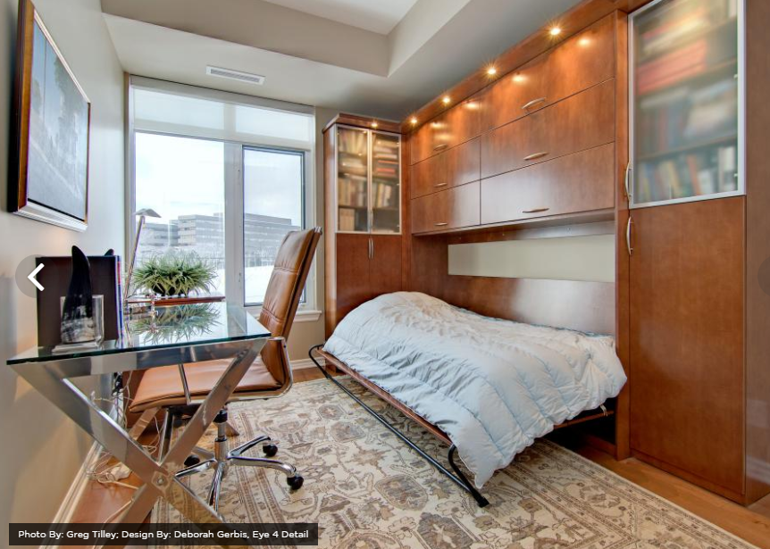 Bedroom and Office Combination from HGTV   source