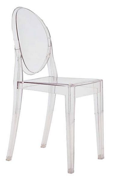 Victoria Ghost Chair Design by Phillip Starck   source