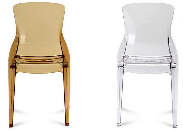 Crystal Chair by Arter & Citton for Domitalia