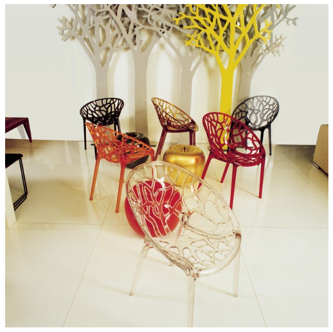Source   to find these branch design transparent chairs