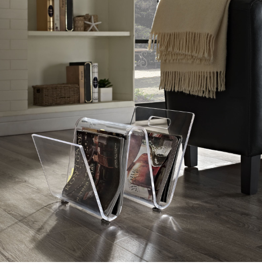 source   on where to find transparent magazine holder