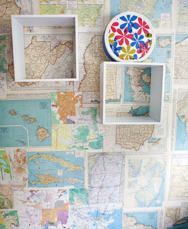 paper map collection   source