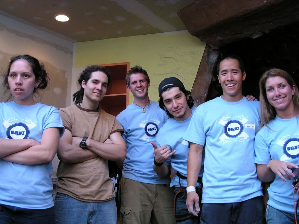 Back in the day! Before there was SW/AG there was The Rock Squad. Pictured here are original members after the DLUX climbing competition at Stoneworks circa early 2000