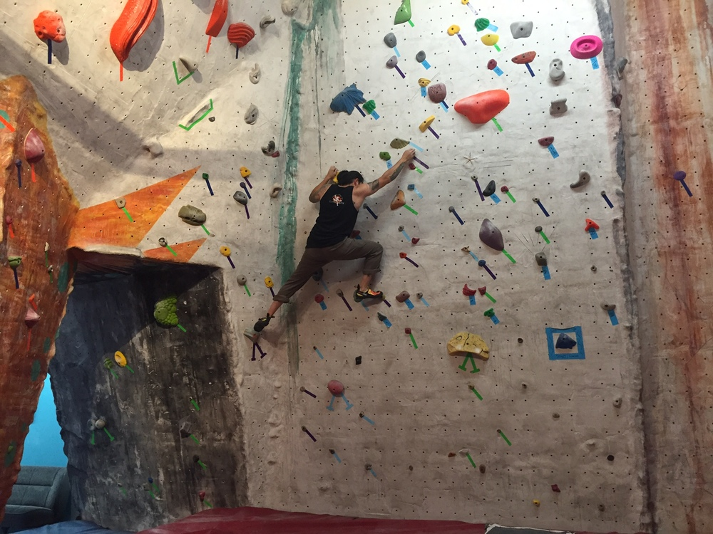 Integrating some high-ball bouldering in the Warmup Boulder Ladder routine