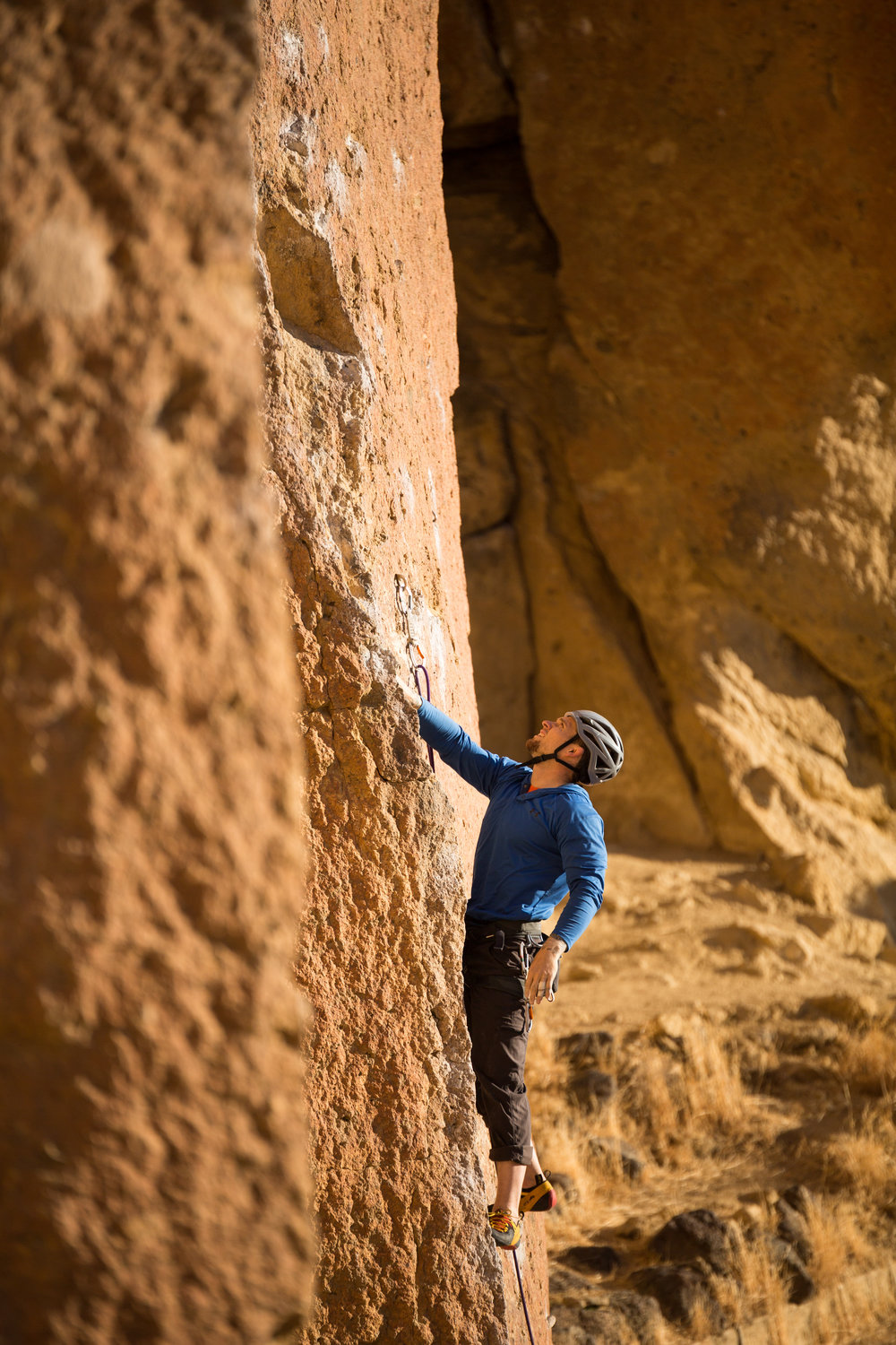 Cameron Apple, Smith Rock. Photo by Nicole Wasko, @nicole_wasko