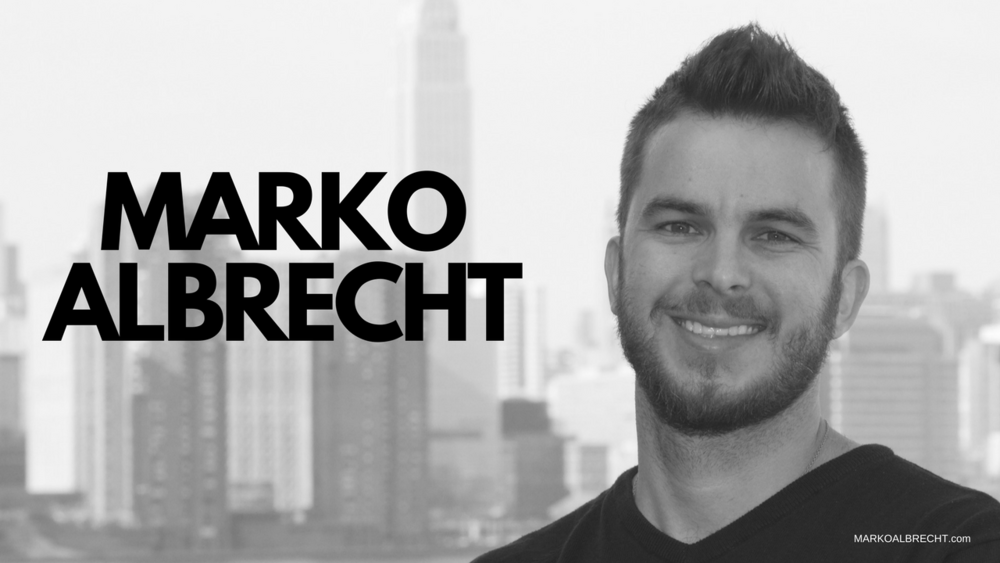 Marko Albrecht - Producer. Creator. Marketer. based in NYC & NJ area.